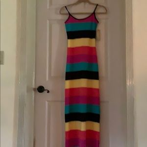 Maxi Dress S - Adjustable Spaghetti Straps - NWT